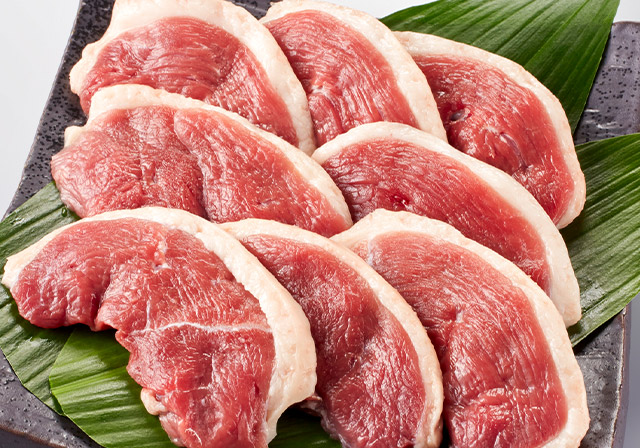 鴨肉(天然マガモ・天然カルガモ)